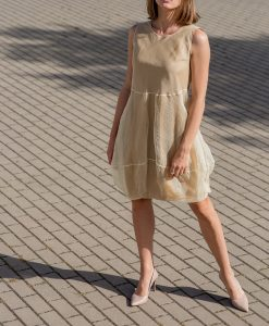 Kleid Kati, gold-gelb - Valentina Design