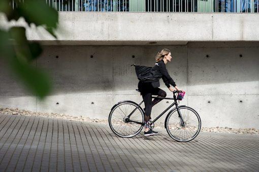 Fahrrad Snack Tasche, bunt