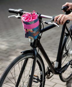 Bicycle snack bag, colorful - Valentina Design