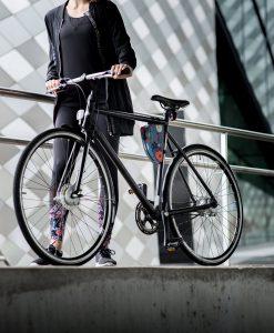 Fahrradtasche klein, rosa-bunt - Valentina Design
